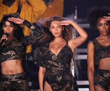 Destiny's Child just reunited at Beyoncé's Coachella set and RIP us