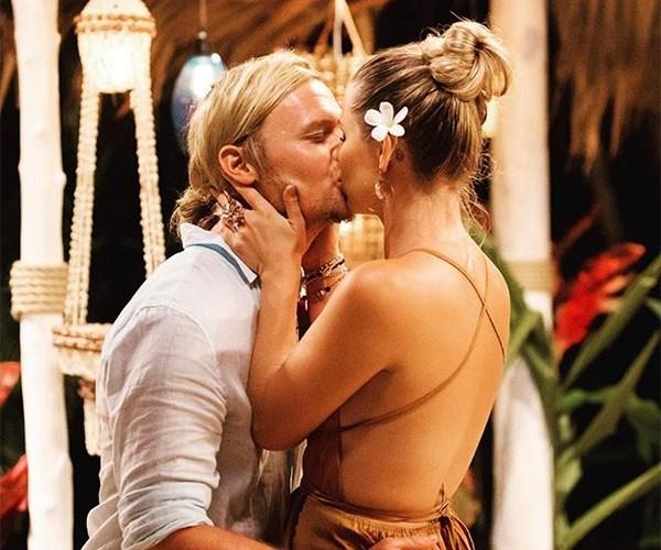 Tara Pavlovic and Sam Cochrane on Bachelor in Paradise Australia