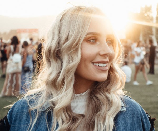 Lauren Curtis' Coachella beauty diary