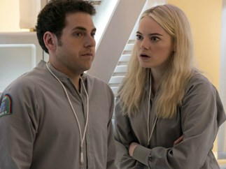 Your first look at Jonah Hill and Emma Stone's new show and FYI, it's no Superbad 2