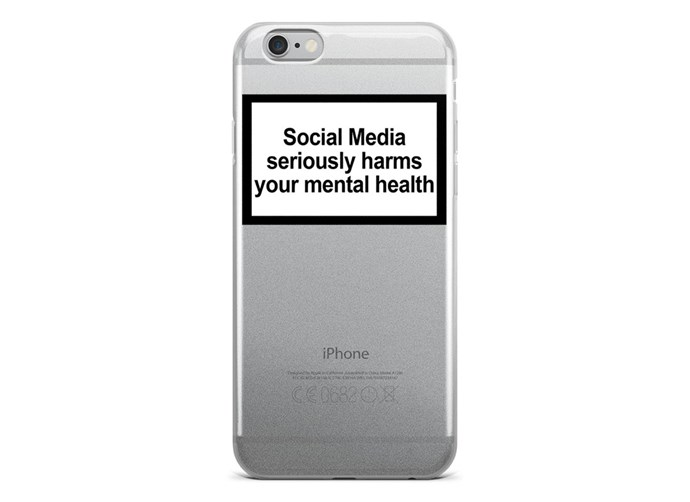 "The case reads ""Social media seriously harms your mental health"", which implies Gigi really isn't having a good time online RN 💔. <br><br> That, or she's sticking up for people like her who've also fallen victim to cyber bullying and trolls. Either way, it's an important message and we stand by Gi for raising social awareness of social media's the potential side effects. <br><br> Want one of these cases? Nab one for yourself over at Uban Sophistication for $46, link [here](https://urbansophistication.boutique/collections/cases/products/mental-health-warning-iphone-case?variant=1277449601032