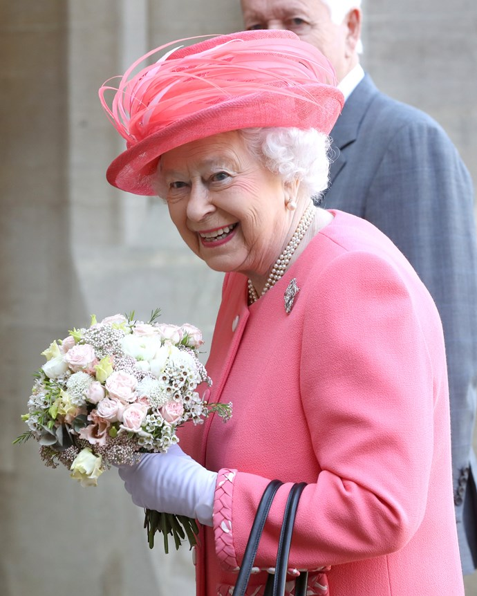 The Queen is the current reigning monarch.