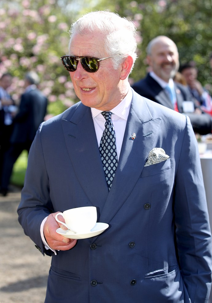 Prince Charles is first-in-line to the throne.