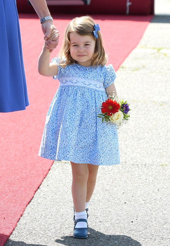 Princess Charlotte is fourth-in-line to the throne.