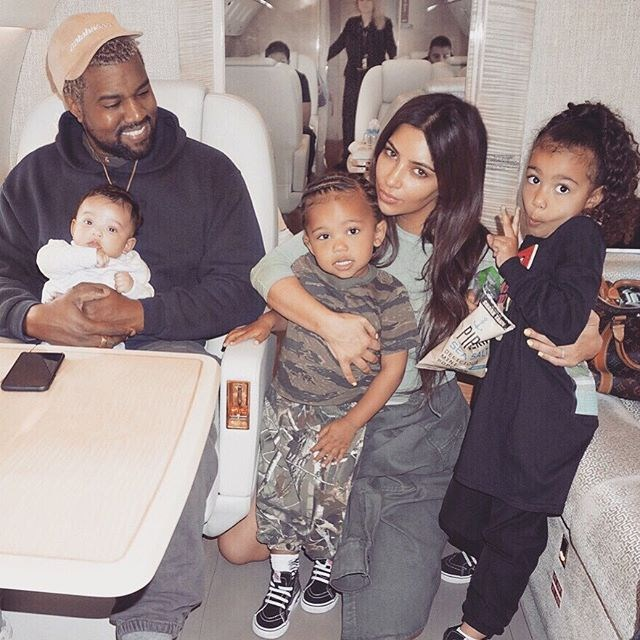 """**Kim Kardashian and Kanye West's Kids: North, Saint and [Chicago West](https://www.cosmopolitan.com.au/celebrity/kim-kardashian-kanye-west-third-baby-chi-name-reactions-25670