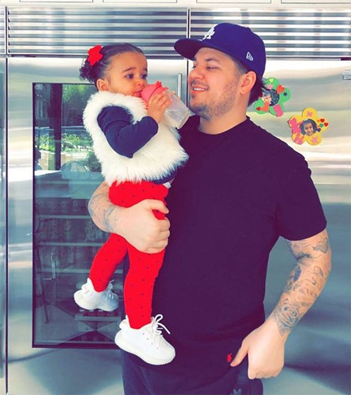 **Rob Kardashian and Blac Chyna's Kid: Dream Kardashian** <br><br> Last but not least is Rob and Blac's baby girl, Dream. While Rob and Chyna never married, as the only Kardashian son, Rob automatically passes on his family name onto his daughter, unlike his sisters. <br><br> So there you have it, Dream is technically the only next-gen Kardashian (on paper), and will continue the family name solo dolo unless something changes, like if Rob has another kid or Kimye decide to double-barrel her kids' surnames after all. <br><br>  But don't worry Dream, Kris will always be around to protect the Kardashian name 💪💪. Literally always.