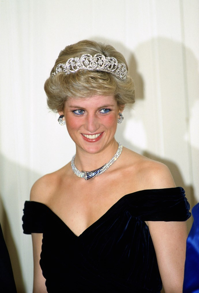 Princess Diana wearing the Spencer Tiara.
