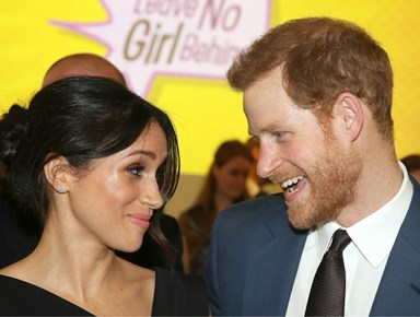 Prince Harry has a little nickname for Meghan Markle and let it slip at a royal function