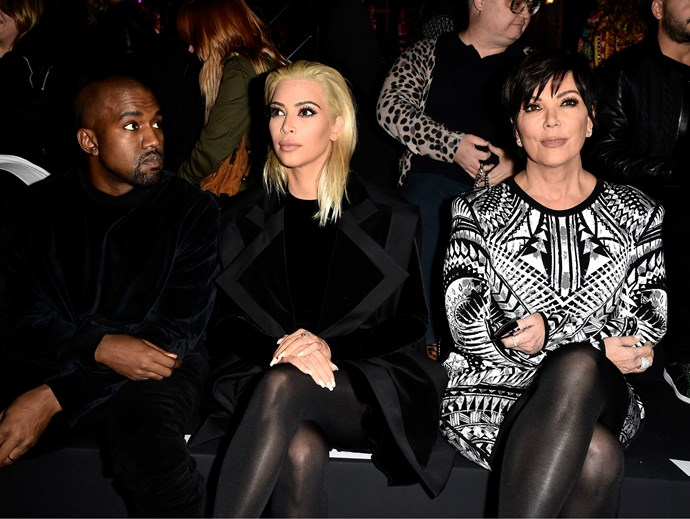 "Kris Jenner responds to reports she and Kanye West have had ""explosive"" fights over his tweets"