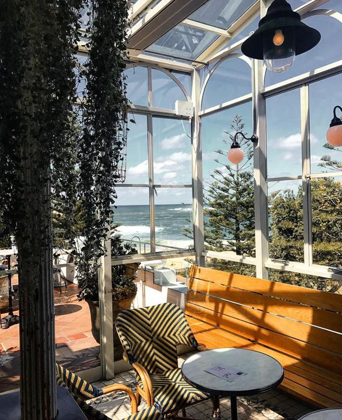 **Coogee Pavilion**  Coogee Pavilion may have a family friendly gaming area, but what we're more interested in is the adults-only rooftop bar. Enjoy the sea views as you sip a cocktail on the Pav's beautiful balcony.