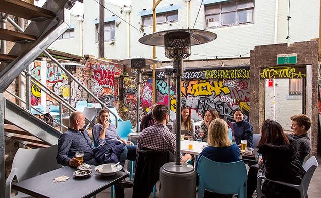 **Lord Gladstone**  With graffitied walls and live music, Lord Gladstone has an undeniably cool vibe. Grab a beer, invite some friends, and your afternoon is basically set.