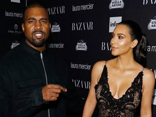 Is this Kim Kardashian's V sexy IG strategy to deflect attention away from Kanye's bizarre tweets?