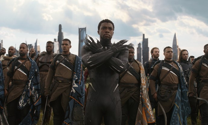**Black Panther**  T'Challa.Looks.Unreal.In.Lycra. So much so, he narrowly misses out on the top slot.