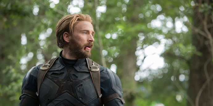 **Captain America**  Got so high up this list because that new beard is doing things to me, honey.