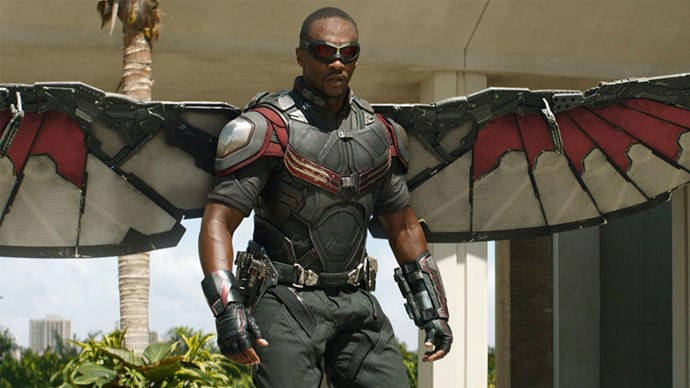 **Falcon**  Honestly we're just wondering how those wings would play out in the bedroom.
