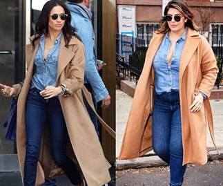 A body-positive blogger is recreating Meghan Markle's looks and we are HERE FOR IT
