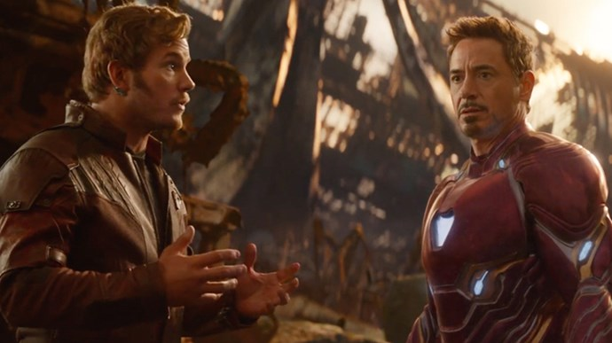 avengers infinity war hot guys