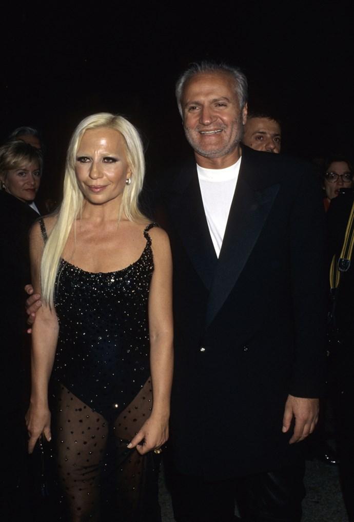 Donatella Versace, 1995