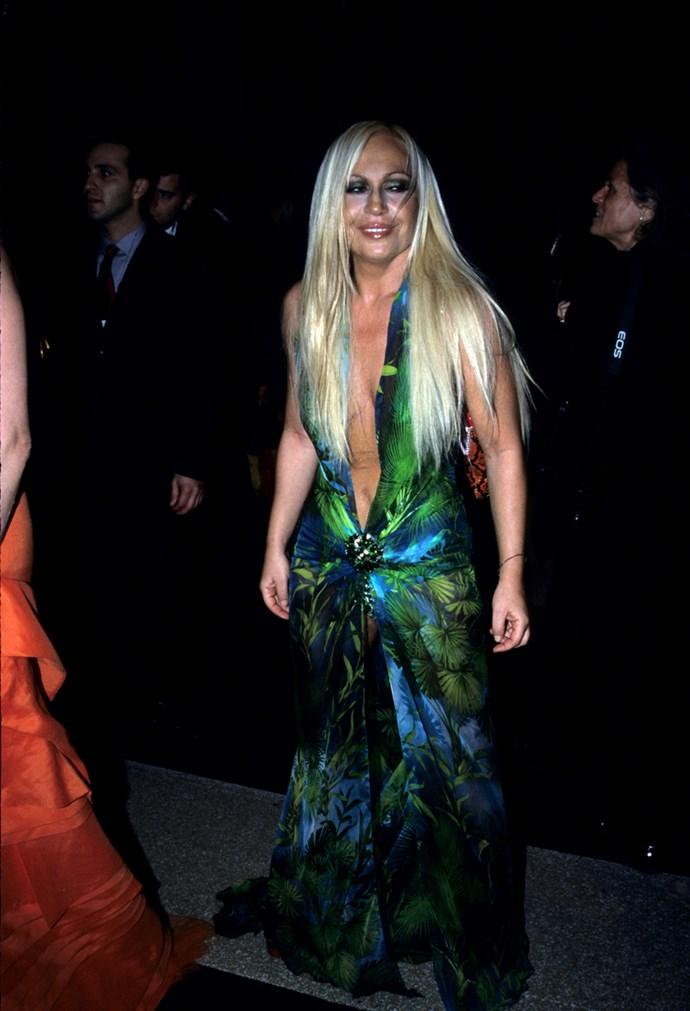 Donatella Versace, 1999