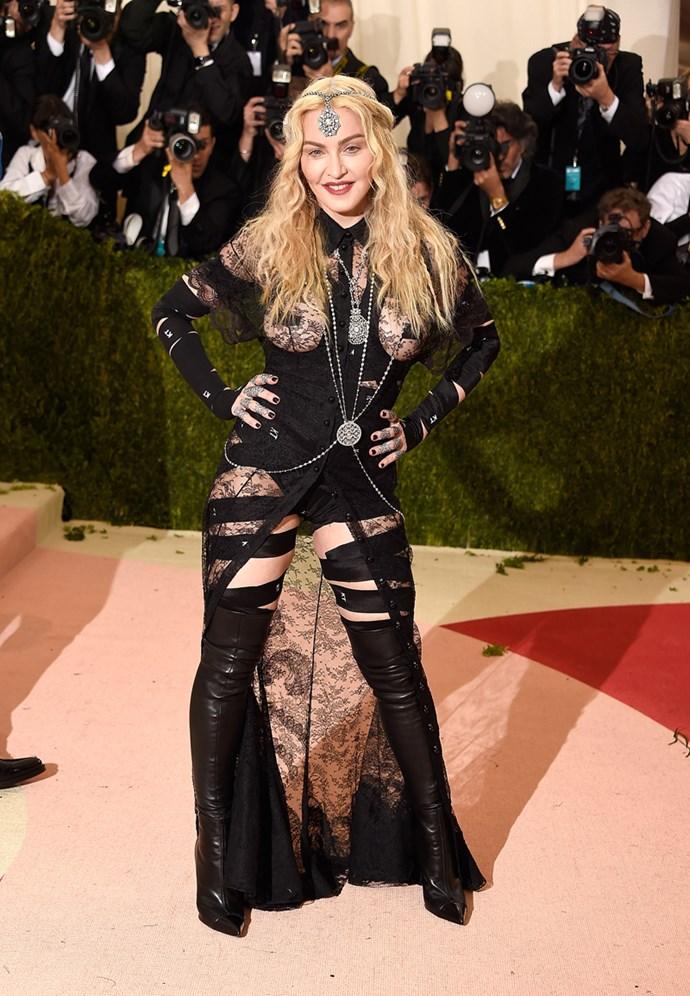 Madonna, 2016