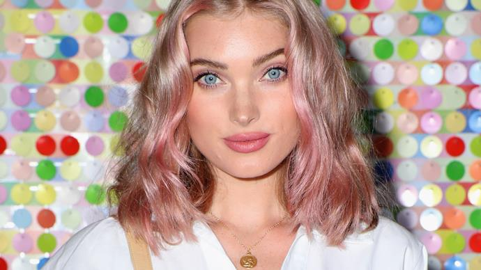 Elsa Hosk Lob Hair