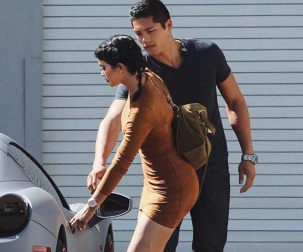 Young mum Kylie Jenner has shown a figure in bikini