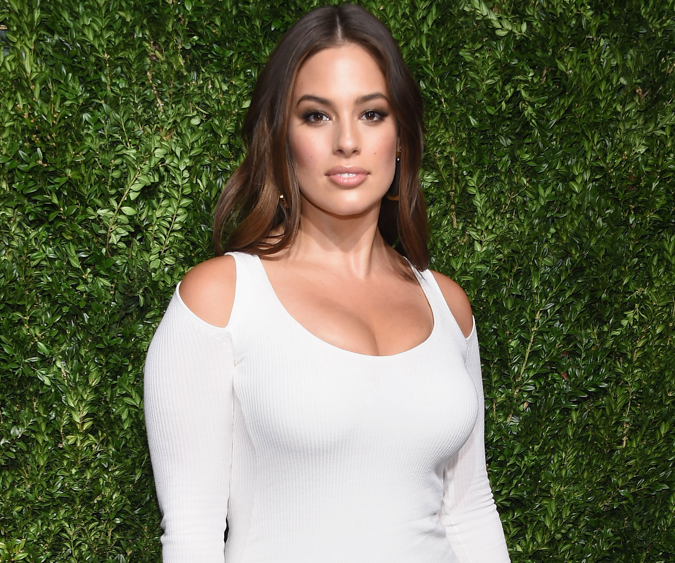 Ashley Graham's latest campaign features untouched paparazzi photos. Slay