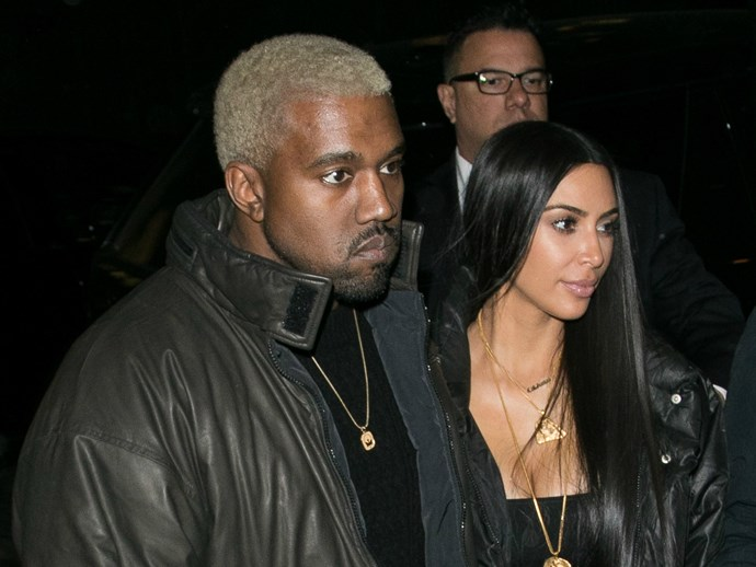 "Kim Kardashian is reportedly ""worried"" about Kanye West"