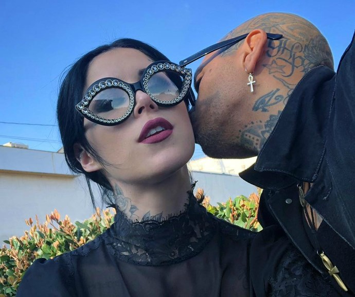 Kat Von D is pregnant and she's already picked out her unborn baby's name