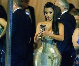 ICYMI: Kim Kardashian's candid Met Gala moment is very rare