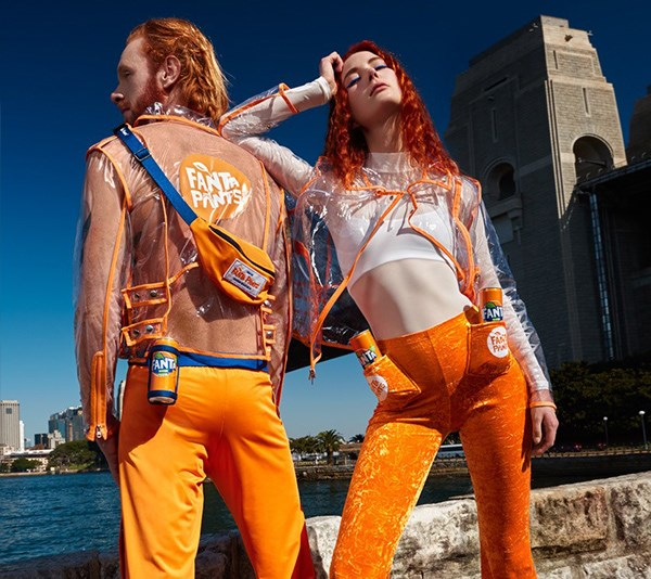 Fanta have released their own clothing line and you can now drink directly from your jacket