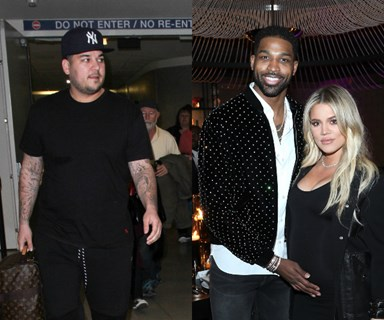 Report: Rob Kardashian is pissed at Tristan Thompson and thinks Khloé should dump him