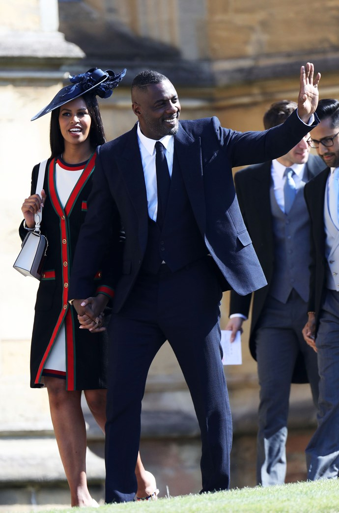 Idris Elba and Sabrina Dhowre.