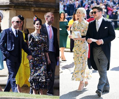 Celebrities you didn't notice attending the royal wedding