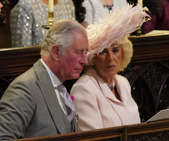 People really think they spied Prince Charles asleep during the royal wedding