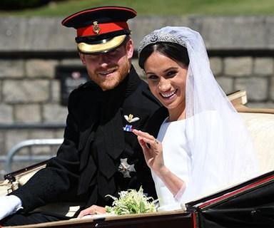 Meghan Markle dropped an f bomb on camera right after the royal wedding