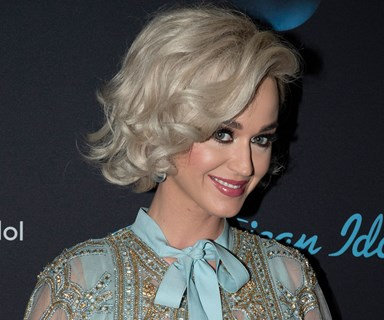 Katy Perry took a swipe at Meghan Markle's wedding dress and no one is safe