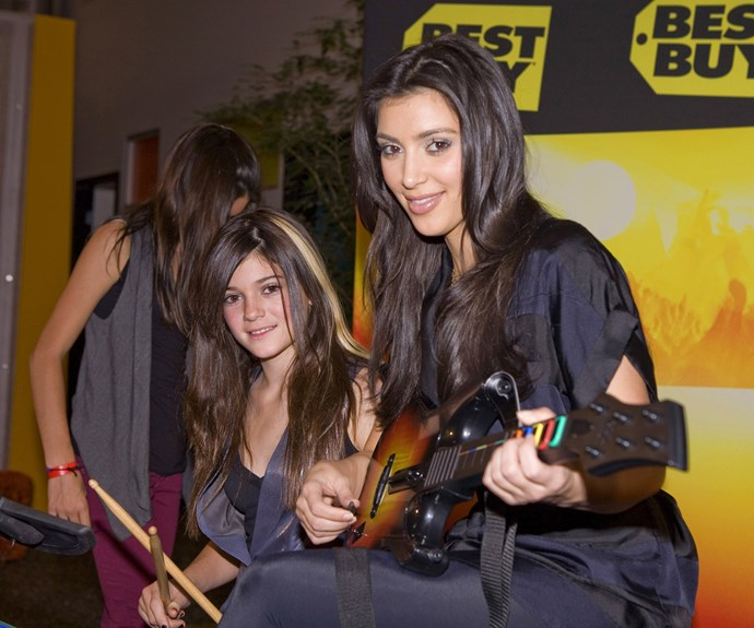 Guitar Hero is just as much a 2000's emblem as the Pussycat Dolls and Ed Hardy — and 2007 Kim and Kylie were getting their LIFE.