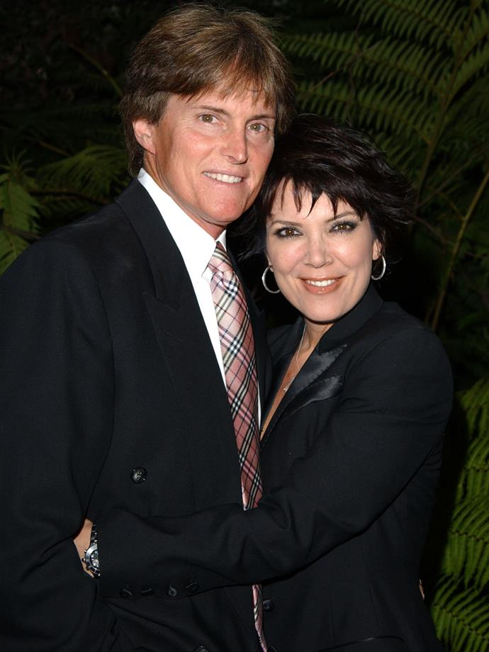 2003 Caitlyn (then-Bruce) Jenner knew exactly how to work a Burberry tie...