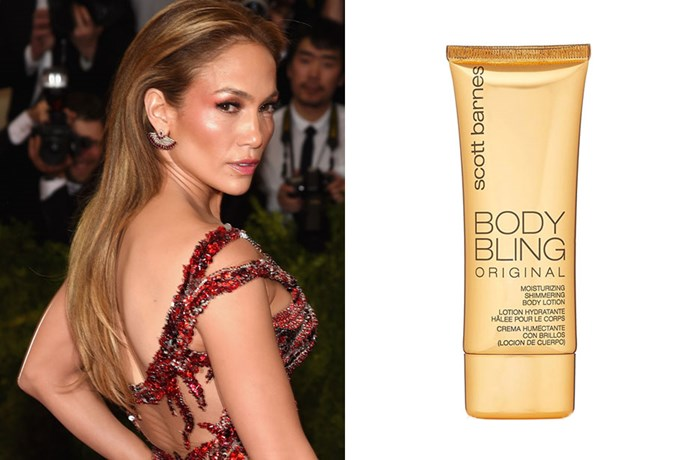 "**Jennifer Lopez** <br><br> The singer already has the tanned Latina skintone to die for, so rather that tanning, JLo simply perfects her skin with a bronze body cream. In between the rare self-tanning session, Jen told [*Allure*](https://www.allure.com/story/jennifer-lopez-on-shaving-waxing-bronzing-and-more|target=""_blank""