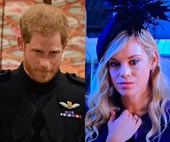 Prince Harry and Chelsy Davy reportedly had a tearful phone call before the royal wedding