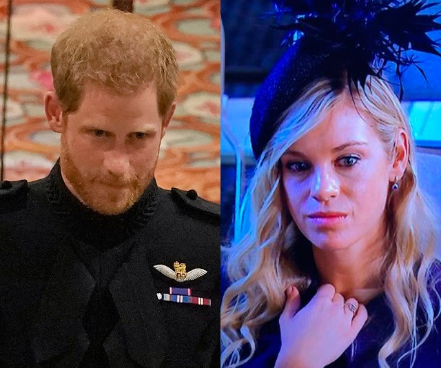 Prince Harry Chelsy Davy phone call