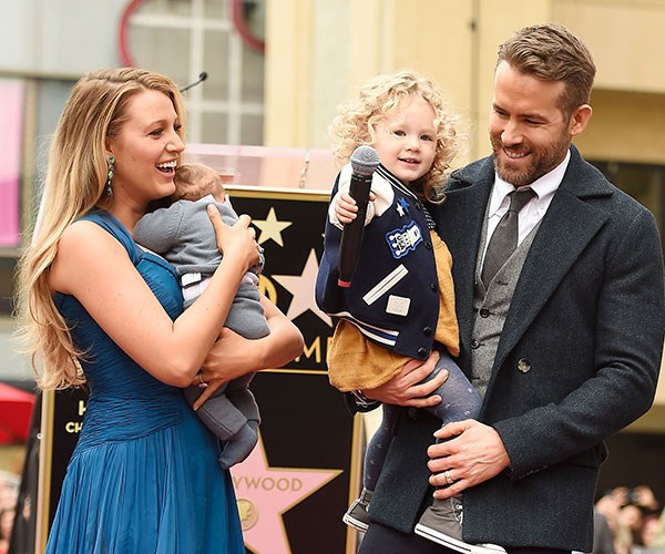 Ryan Reynolds Blake Lively Kids Banned From Deadpool set