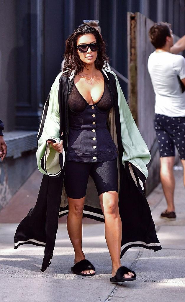 Kim Kardashian in New York, 2016.