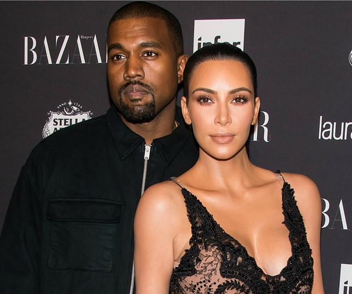 Kim Kardashian posts rare wedding photo to celebrate four years married to Kanye West