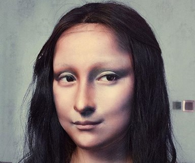 This makeup artist has gone viral for turning herself into Mona Lisa