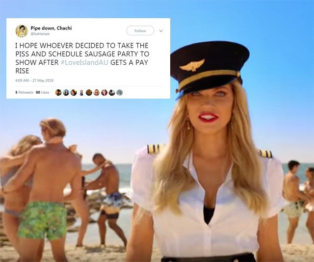 love island australia twitter reactions