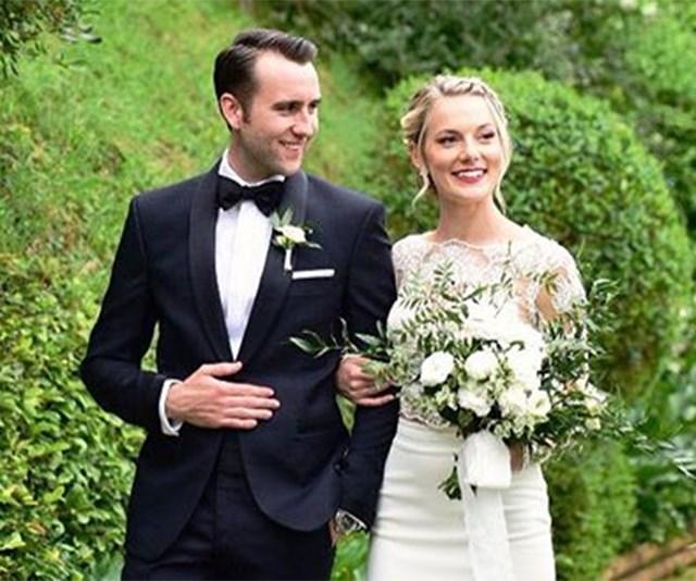 neville longbottom matthew lewis wedding pictures