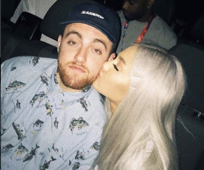 Ariana and Mac in happier times.