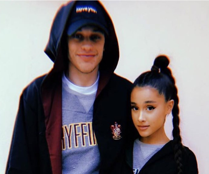 Pete Davidson just got TWO Ariana Grande tattoos and they're pretty amazing